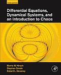 Differential Equations, Dynamical Systems, and an Introduction To Chaos (3RD 13 Edition)