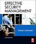Effective Security Management Cover