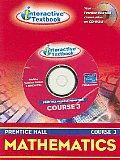 Prentice Hall Math Course 3 Itext CD-ROM 2004