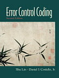 Error Control Coding 2ND Edition Cover