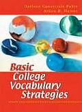 Basic College Vocabulary Strategies (05 - Old Edition)