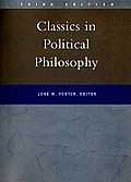Classics in Political Philosophy (3RD 00 Edition) Cover