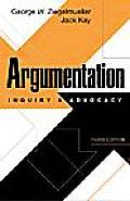 Argumentation Inquiry & Advocacy 3rd Edition