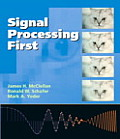 Signal Processing First with CDROM Cover