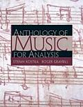 Anthology of Music for Analysis (04 Edition)