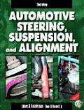Automotive Steering, Suspension, and Alignment / With Worktext and CD (3RD 04 - Old Edition) Cover