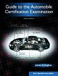 Guide to the Automobile Certification Examination Cover