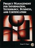 Project Management for Information Technology Business & Certification