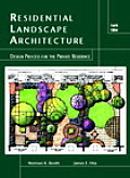 Residential Landscape Architecture 4th Edition Design Process For the Private Residence