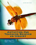 Activities for Teaching Science As Inquiry
