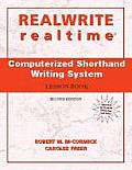 REALWRITE realtime Computerized Shorthand Writing