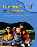 Exceptional Children An Introduction To Special