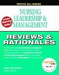 Nursing Leadership and Management [With CDROM]