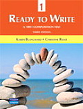 Ready To Write 1 : First Composition Text Only (3RD 10 Edition)