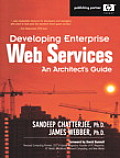 Developing Enterprise Web Services: An Architect's Guide (Hewlett-Packard Professional Books) Cover