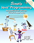 Simply Java Programming : an Application-driven Tutorial Approach - With CD (04 Edition)