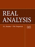 Real Analysis (4TH 10 Edition)