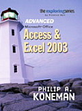 Access & Excel 2003