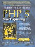 PHP 5 Power Programming Cover