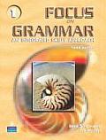 Focus on Grammar 1 An Integrated Skills Approach