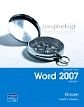 Microsoft Office Word 2007, Volume 1 - Text Only (08 Edition) Cover