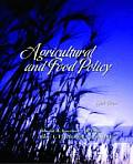 Agricultural and Food Policy Cover