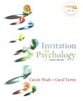Invitation To Psychology -text Only (4TH 08 - Old Edition)