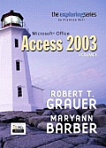 Microsoft Access 2003, Volume 1 [With CDROM]