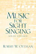 Music For Sight Singing Sixth Edition