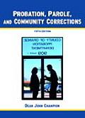 Probation Parole & Community Correction