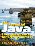 Essential Java Class Reference for P 3RD Edition