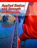 Applied Statics and Strength of Materials Cover
