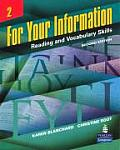 For Your Information 2 : Reading and Vocabulary Skills (2ND 07 Edition)