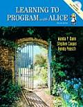 Learning To Program With Alice - With 2 CD's (2ND 09 - Old Edition)