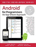 Android for Programmers An App Driven Approach 1st Edition