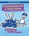 Challenging Behavior in Young...