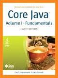 Core Java Volume I, Fundamentals (8TH 08 - Old Edition)