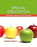 Special Education: Contemporary Perspectives for School Professionals, Student Value Edition