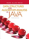 Data Structures and Algorithm Analysis in Java (3RD 12 Edition) Cover