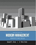 Modern Management: Concepts and Skills Plus Mymanagementlab with Pearson Etext