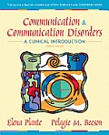 Communication & Communication Disorders A Clinical Introduction