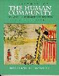 History of the Human Community, Volume I : Prehistory To 1500 (5TH 97 Edition)