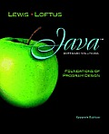 Java Software Solutions: Foundations of Program Design [With Access Code]