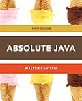 Absolute Java-with Access (5TH 13 Edition)