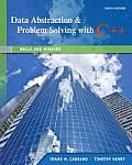 Data Abstraction & Problem Solving with C++ Walls & Mirrors 6th Edition