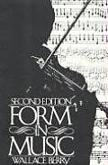 Form in Music (2ND 86 Edition)