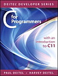 C for Programmers with an Introduction to C11 (Deitel Developer)