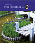 Problem Solving With C++ (9TH 15 Edition)