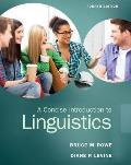 Concise Intro. To Linguistics (4TH 15 Edition)