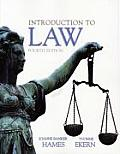 Introduction To Law (4TH 10 - Old Edition)